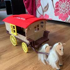 Sylvanian Families Gypsy Caravan Set In ST18 Stafford For ...