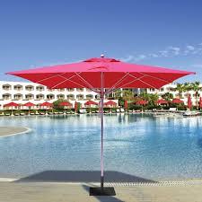 10 Square Commercial Patio Umbrella