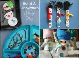 Snowman Crafts And Activities