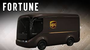 100 Ups Truck UPS Unveiled The Electric Of The Future I Fortune YouTube
