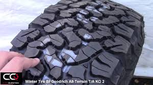 Winter Tire Review: BFGoodrich All-Terrain T/A KO2, Simply The Best ...