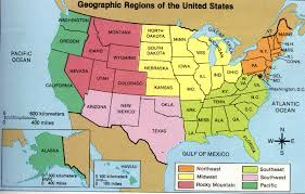 Interactive Map Of The United States Regions Justinhubbard Me