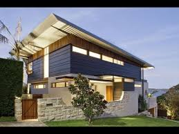 104 Skillian Roof Contemporary Home Design With An Amazing Simple Skillion That Mirrors The Slope Of The Land Youtube