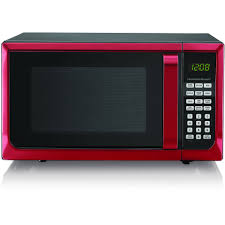 Red Angle Hamilton Beach Microwave Product Features