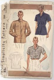 Bomber Girl A Brief History Of Mens Shirts From 1900 1949