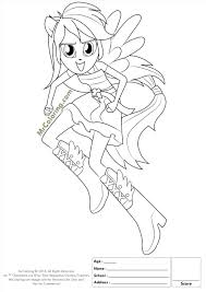 My Little Pony Equestria Girls Coloring Pages Sunset Shimmer Beauteous Girl