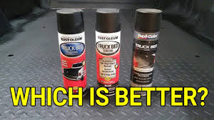 Truck Bed Liner Spray Can Comparison - YouTube Truck Bed Liner Spray Can White Best Resource How To Paint Your Car With Bedliner Project Behemoth Doityourself Roll On Durabak New Fend Flare Arches Done In Rustoleum Great Finish 1995 F150 4x4 Totally Bed Liner Paint Job 4 Lift Custom Lighting 98 S10 Topper Painted With Duplicolor Coating Youtube Linex Ford F250 8lug Magazine Akron Collision Repair Body Shop And Pating Mikes Paint And Body Speedliner Spray In Bedliner Simple A Job My Recumbent Rources Regard Trq254 Ebay