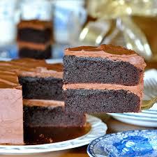 JULES FOOD Black Magic Cake with Whipped Dark Chocolate Ganache