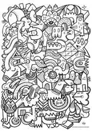 Coloring Doodle Art Doodling 16