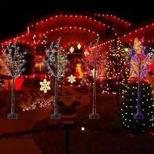 Menards Christmas Tree Bag by Curtain Xmas Lights Holiday Spot Lights Holiday Lights Projector