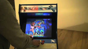 Mame Cabinet Plans 4 Player by Custom Built Mini Arcade Machine Cabinet A K A Megacade Youtube