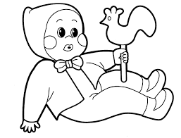 Baby Doll Coloring Pages Free Printable With