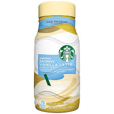 When Are Pumpkin Spice Lattes At Starbucks by Starbucks Skinny Vanilla Latte Iced Espresso 48 Fl Oz Bottle