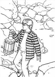 Harry Potter Inside Chamber Of Secret Coloring Page