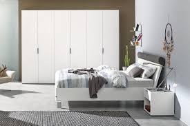 hülsta fena schlafzimmerkombi weiß mit grau möbel letz