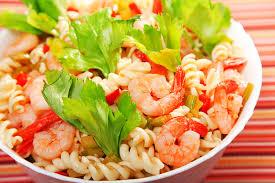 salade de pâtes au thon et crevettes une recette de plat facile