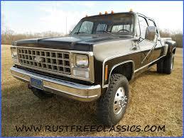 100 Chevy Truck 4x4 1980 80 Chevrolet Crew Cab Dually K30 1 One Ton Four Wheel