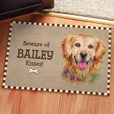 Dog Breeds Personalized Doormat