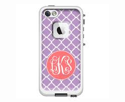 Monogrammed LifeProof Fre or Nuud for iPhone 6 Plus iPhone 6