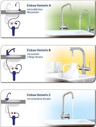 3 wege küchen armaturen wasserhähne zum anschluss für
