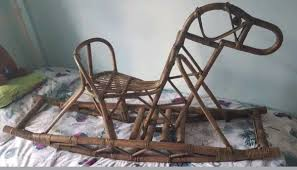 1950s Large Vintage Rattan Wicker Rocking Hor In South ... Bamboo Rattan Children Cane Rocking Chair 1950s 190802 183 M23628 Unique Set Of Two Wicker Chairs On Vintage Childrens Fniture Blue Heywoodwakefield American Victorian Natural Wicker Ornate High Back Platform For Sale Bhaus Style Lounge 50s Brge Mogsen Model 157 Chair For Sborg Mbler Set2 Cees Braakman Pastoe Flamingo Rocking 2menvisionnl Beautiful Ratan In The Style Albini 1950 Pair Spanish Chairs Ultra Rare Vintage Rattan Four Band 3 4 Pretzel Cut Out Stock Images Pictures Alamy