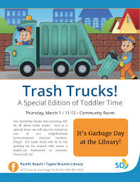 Toddler Time: Trash Trucks! | San Diego Public Library Mad About Trucks And Diggers Amazoncouk Giles Andreae David Used Cars For Sale Birmingham Al 35233 Worktrux Were All About That Truck Life Red Mccombs Toyota Pinterest All 1920 New Car Specs Selena Hawkins On Twitter Its Trucks Diggers This Cab Nonse How And Monster 19900 En Mercado Libre Malone Crst The Youtube Tow Facts Home Facebook We Will Transport It Hauling Isuzu Npr Tractor Jack Lorries Dvd 2017