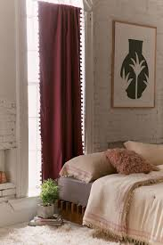 Plum And Bow Pom Pom Curtains by Let U0027s Get Cosy With Curtains Teatime With Naomi