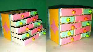 Handmade Matchbox Crafteasy Jewelry Box Making From Waste Match Boxhow To Make DIY