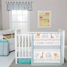 Lab Lullaby Jungle 6 pc Crib Bedding Set