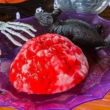 Jello Halloween Molds Instructions amazon com plastic brain jello mold home u0026 kitchen