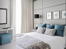 bedroom bedroom blue gray color scheme light grey wall paint and