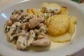 cuisine facile fricassée de dinde a la crème et aux champignons cuisine facile