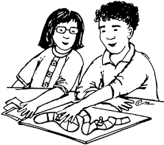 Playing Games Clip Art Black And White