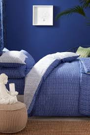 buy 2 pack blue tie dye bed set from next usa