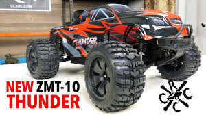 100 Youtube Monster Truck ZD Racing Thunder ZMT10 9106S 4WD Brushless YouTube