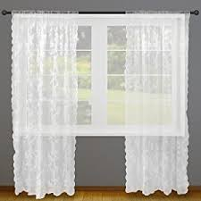 amazon com dii sheer lace decorative window treatments for