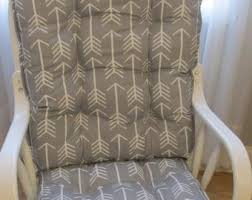 Dutailier Nursing Chair Replacement Cushions by Grey Rocker Cushion Etsy