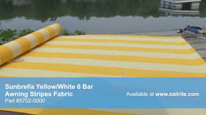 Video Of Sunbrella Yellow White 6 Bar Awning Stripe Fabric 5702 ... Sunbrella Awning Stripe 494800 Sapphire Vintage Bar 46 Fabric 494600 Blacktaupe Fancy Video Of Yellow White 6 5702 Colonnade Juniper 4856 46inch Striped And Marine Outdoor Forest Green Natural 480600 Awnings Porch Valances Home Spun Style This Awning Features Westfield Mushroom Milano Charcoal From Fabricdotcom In The