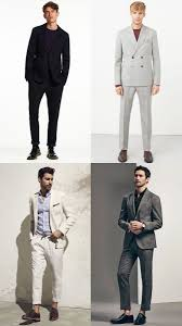 Mens Relaxed Unstructured Suiting Spring Summer Outfit Inspiration Lookbook