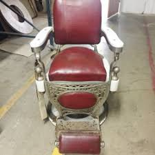 Theo A Kochs Barber Chair Footrest by Antique Barber Chairs Marketplace U2013 Buy And Sell Antique Barber