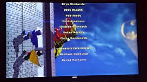 The Credits Show DC Superheroes Batman And Robin Encountering A Giant Dinosaur Thanks BrickFan Classic Jurassic Park Theme Briefly Plays