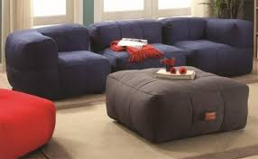 Lazy Life Bean Bag Sectional Sofa