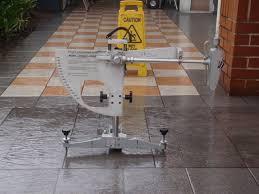 pendulum floor slip test