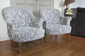 siege crapaud paire de fauteuils crapaud tapissier à bohars réfection de