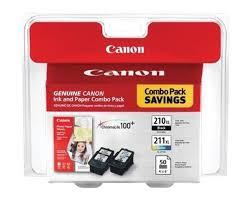 Canon PIXMA MX350 Black Color Ink Cartridges Combo Pack OEM