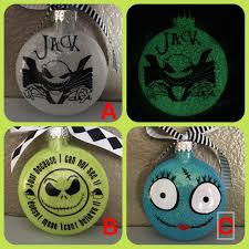 Nightmare Before Christmas Decorations by Nightmare Before Christmas Ornaments Jack Ornaments Sally