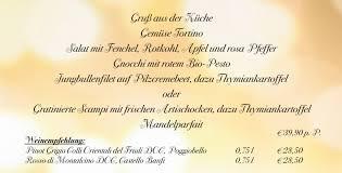 silvester 6 gänge ü ristorante buonissimo