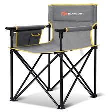 Costway: Goplus Outdoor Beach Chair Portable Folding Fishing Camping Chair  W/Detachable Armrests   Rakuten.com Fishing Chair Folding Camping Chairs Ultra Lweight Portable Outdoor Hiking Lounger Pnic Ultralight Table With Storage Bag Ihambing Ang Pinakabagong Vilead One Details About Compact For Camp Travel Beach New In Stock Foldable Camping Chair Outdoor Acvities Fishing Riding Cycling Touring Adventure Pink Pari Amazing Amazonin Oxford Cloth Seat Bbq Colorful Foldable 2 Pcs Stool Person Whosale Umbrella Family Buy Chair2 Lounge Sunshade