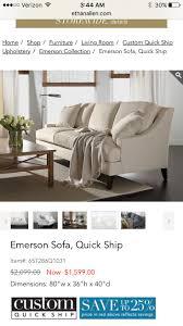 Ethan Allen Bennett Sofa Dimensions by 8 Best Furniture Images On Pinterest Ethan Allen Dining Room