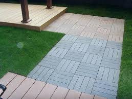 Outdoor Flooring Over Grass Temporary Tile For Renters Home Design Ideas Patio